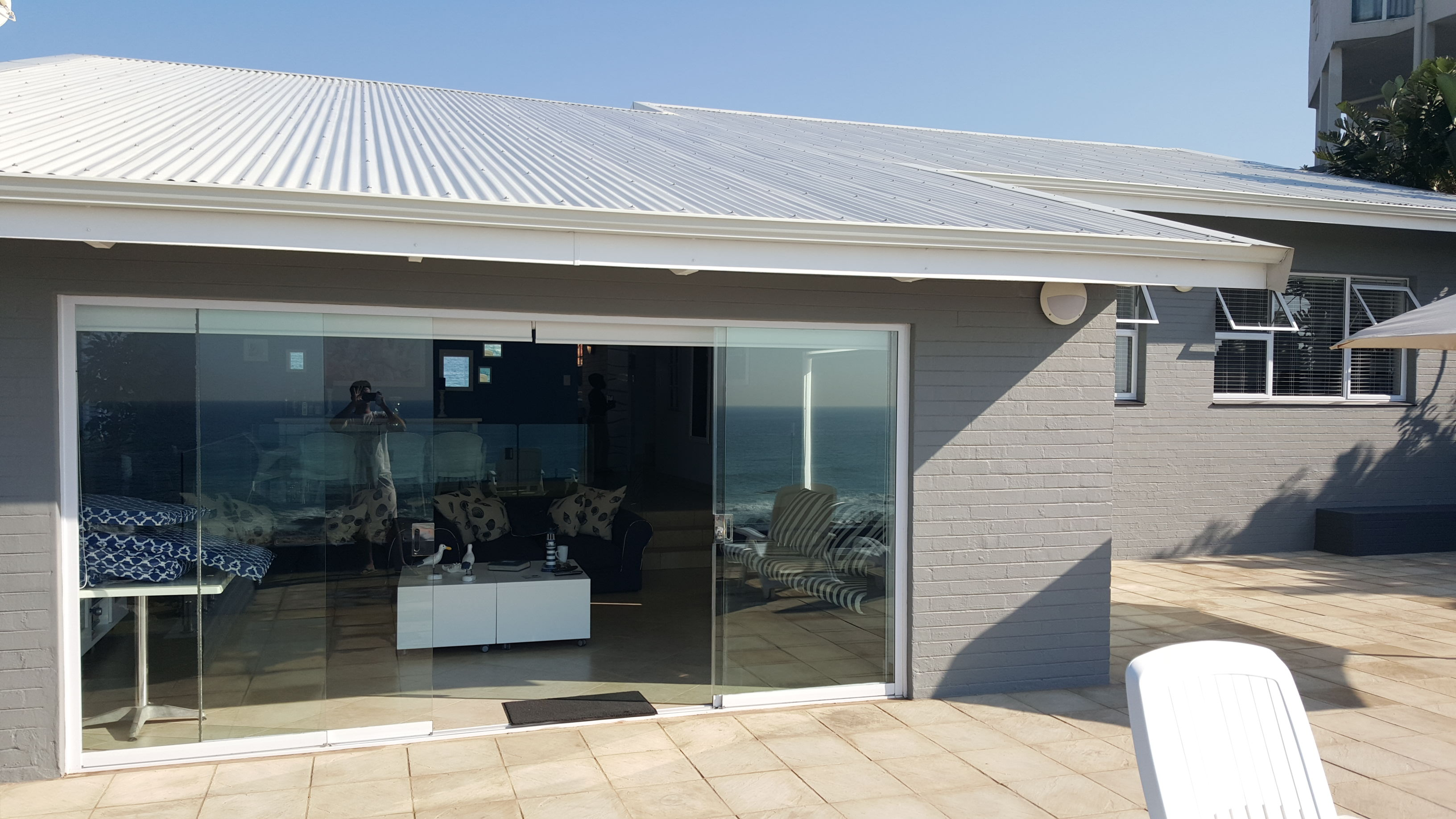 frameless glass sliding doors